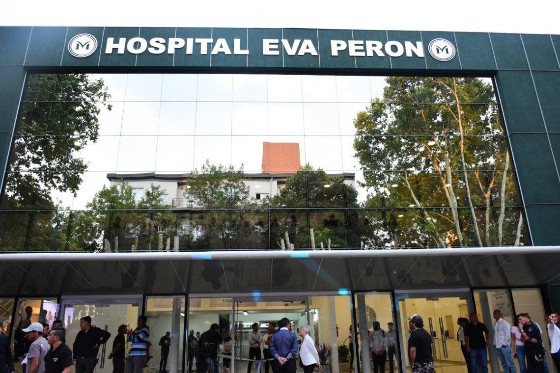La masajista apuñalada en Merlo se encuentra en el Hospital Eva Perón.