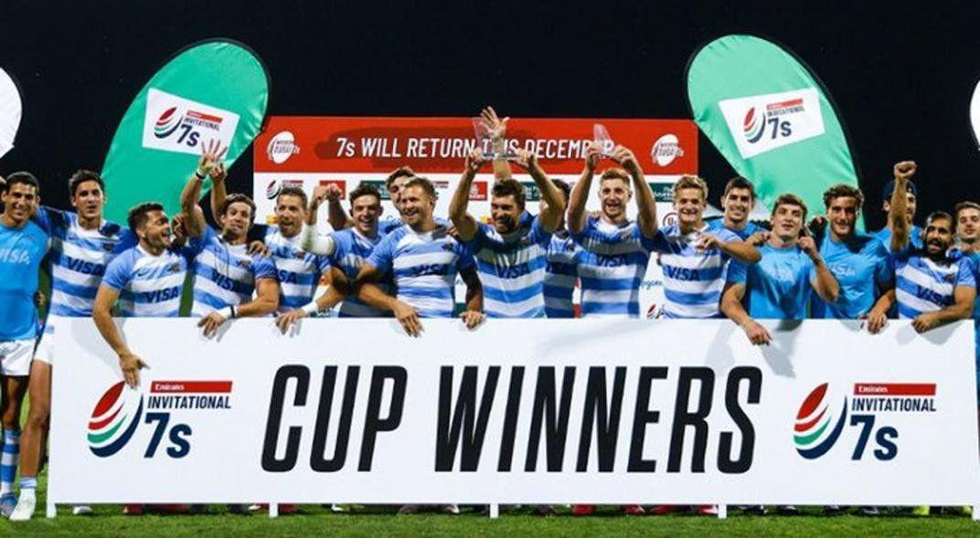 Los Pumas 7s ganaron el Seven de Dubai