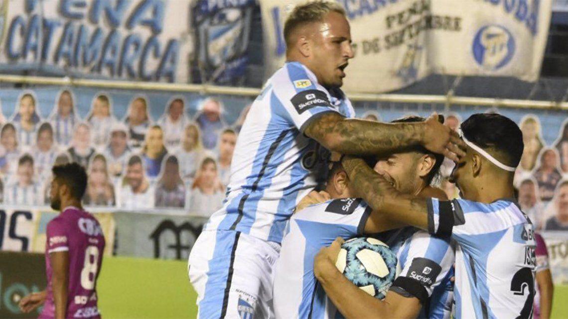 Atlético Tucumán lo dio vuelta y se llevó los 3 puntos.