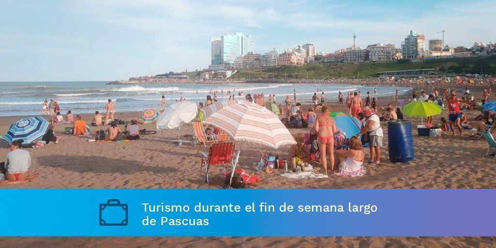 Casi 2 millones de turistas recorrieron el país en Semana Santa