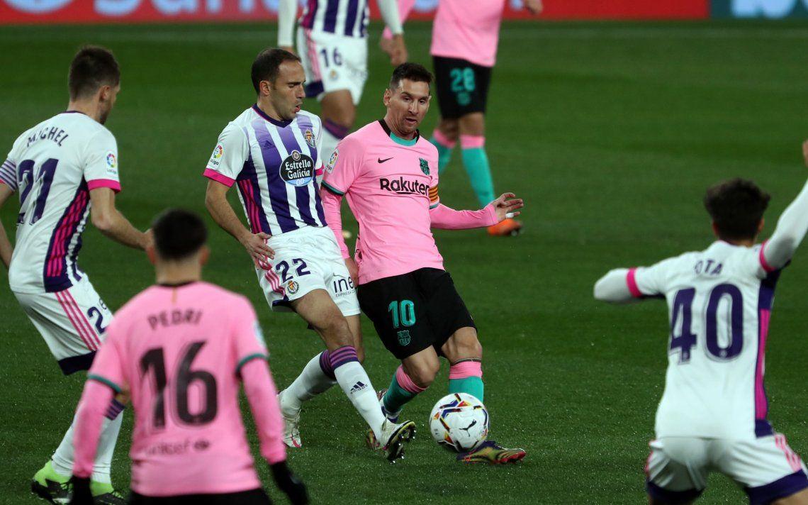 El Barcelona de Messi busca meterle presión al Atlético