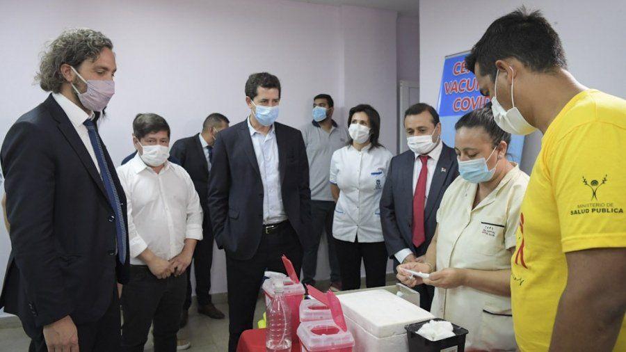 Coronavirus: Cafiero se reunió con autoridades nacionales y del AMBA.