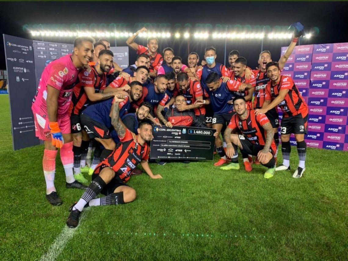Patronato venció a Lanús y se clasificó a los octavos de final de la Copa Argentina