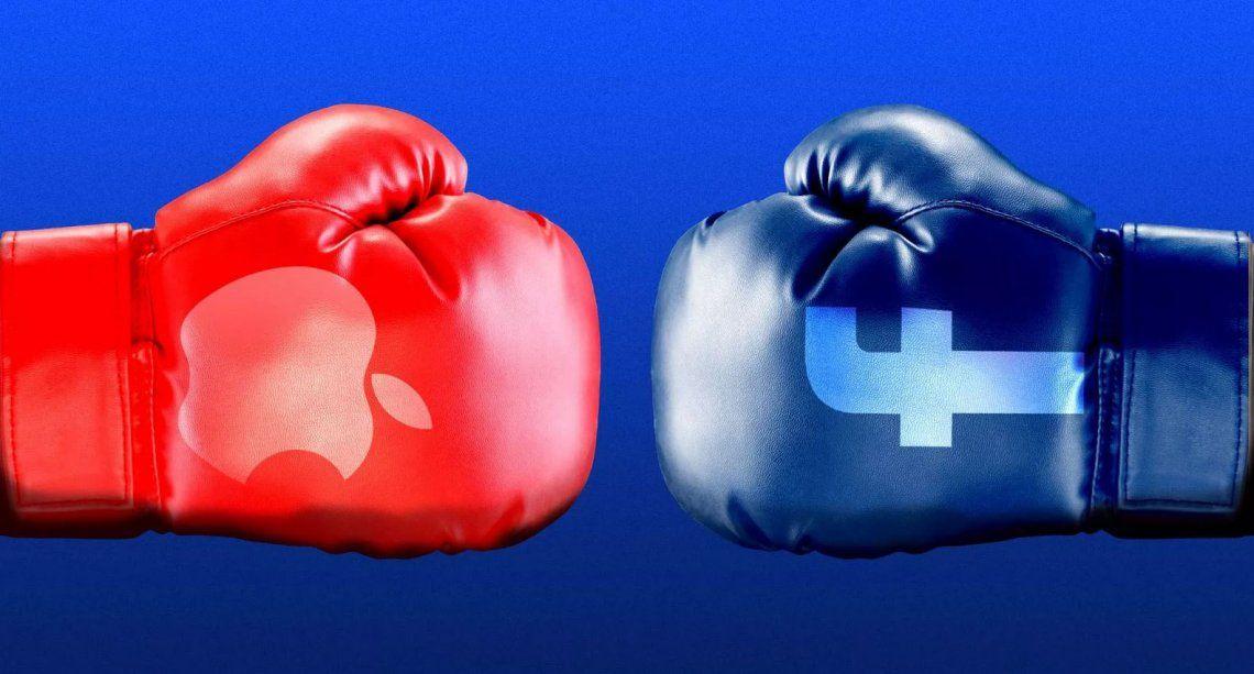 Apple realizará cambios de privacidad que la enfrentarán con Facebook