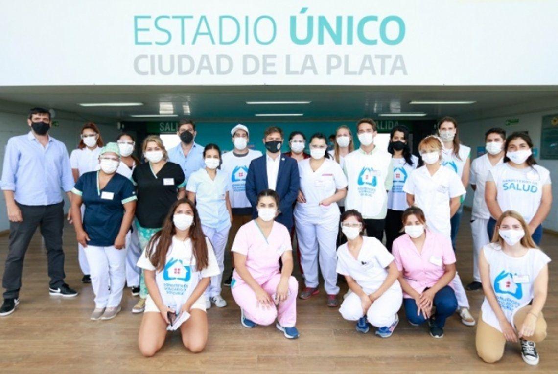 Se reanudó la vacunación en el Estadio Único de La Plata