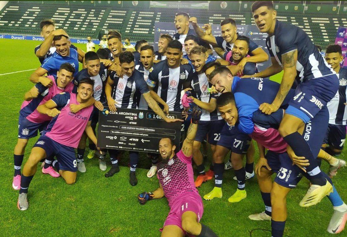 Talleres de Córdoba se clasificó a los octavos de final de la Copa Argentina