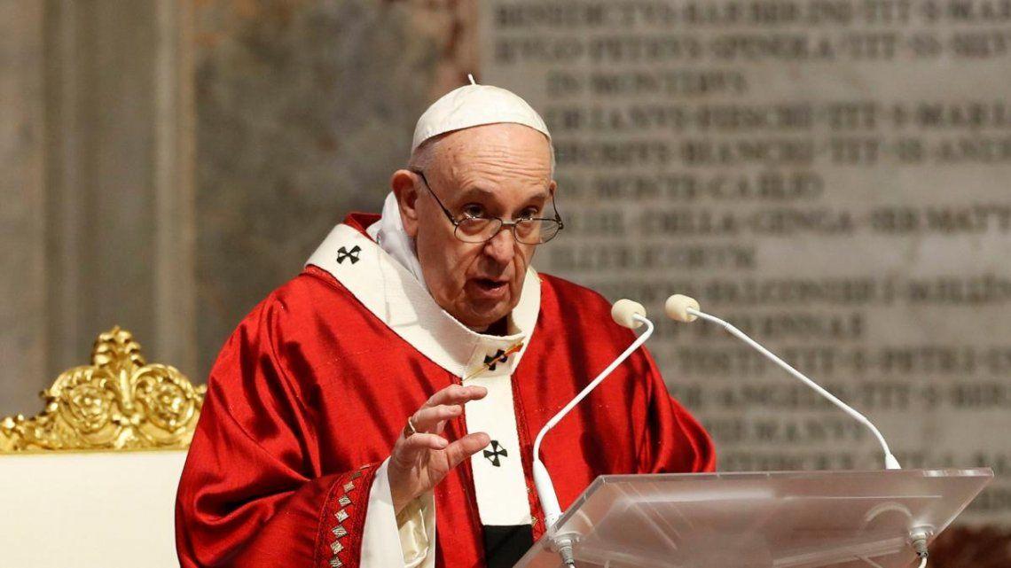 Francisco envió un nuevo mensaje pidiendo solidaridad por parte de los organismos de crédito.