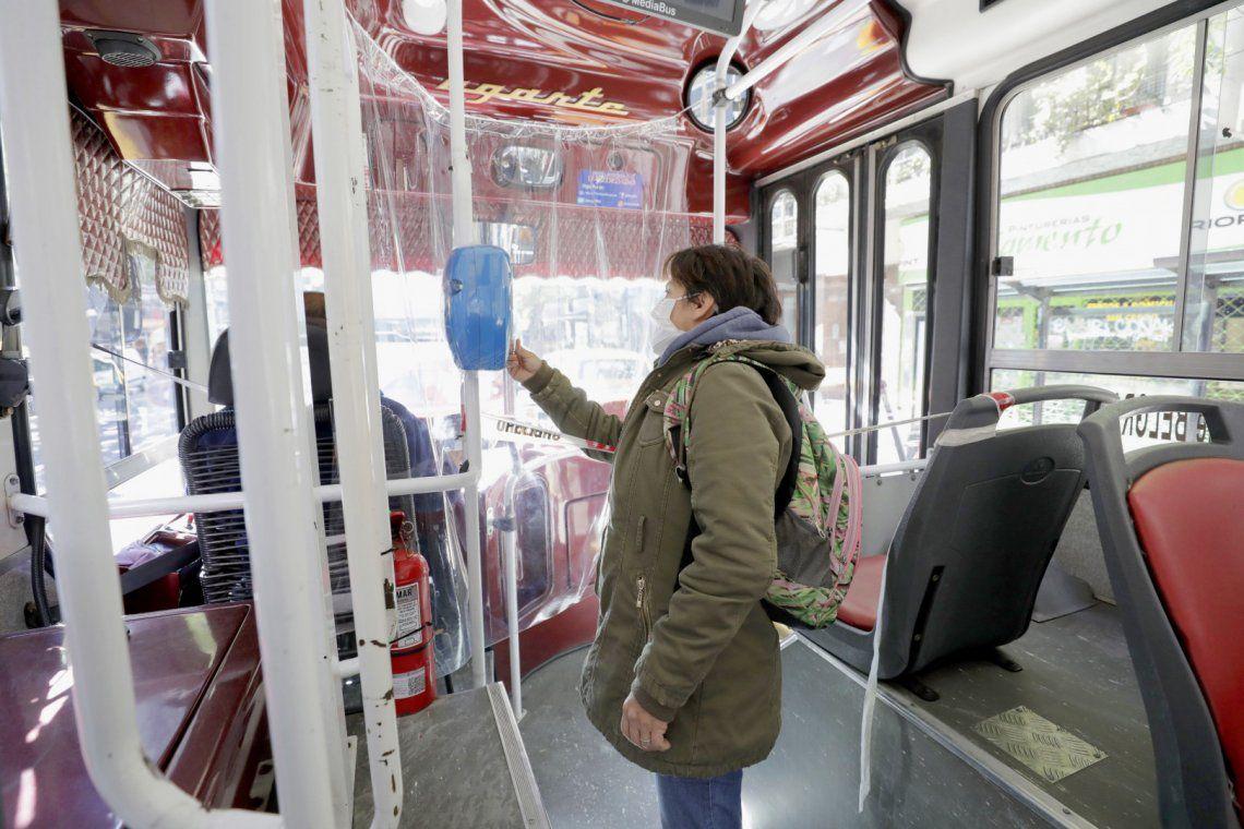 Se redujo la cantidad de pasajeros que utilizan el transporte público en el AMBA.