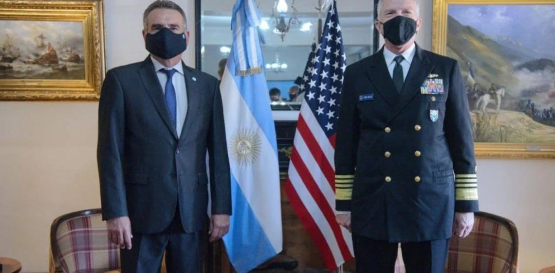 Estados Unidos ayudará a Argentina: Rossi fue parte del anuncio.