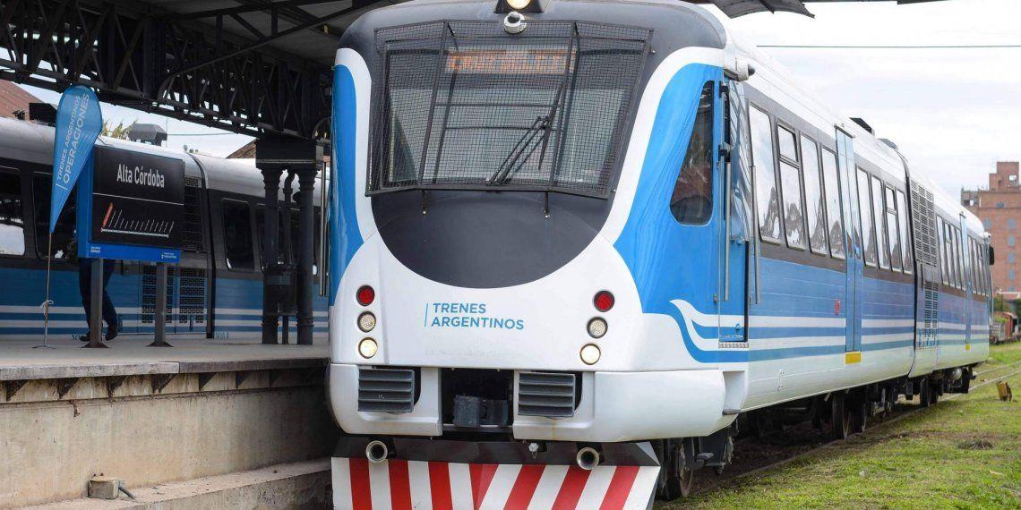 Solo podrán viajar en tren los trabajadores escenciales