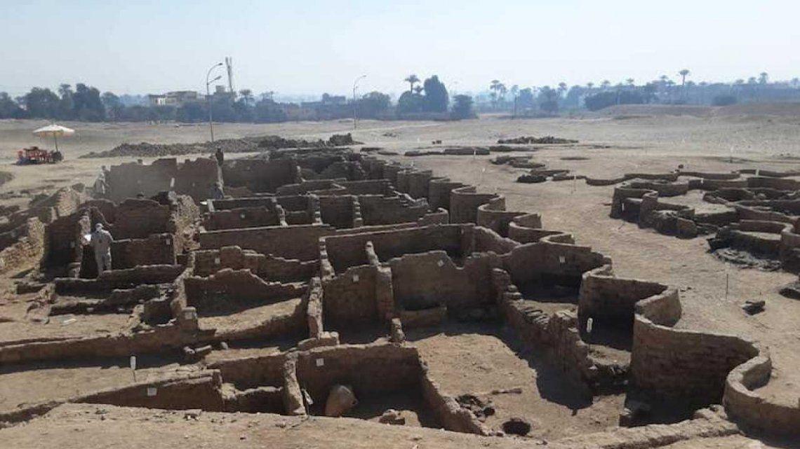 Egipto: descubren la ciudad dorada perdida de Luxor perdida hace 3.000 años