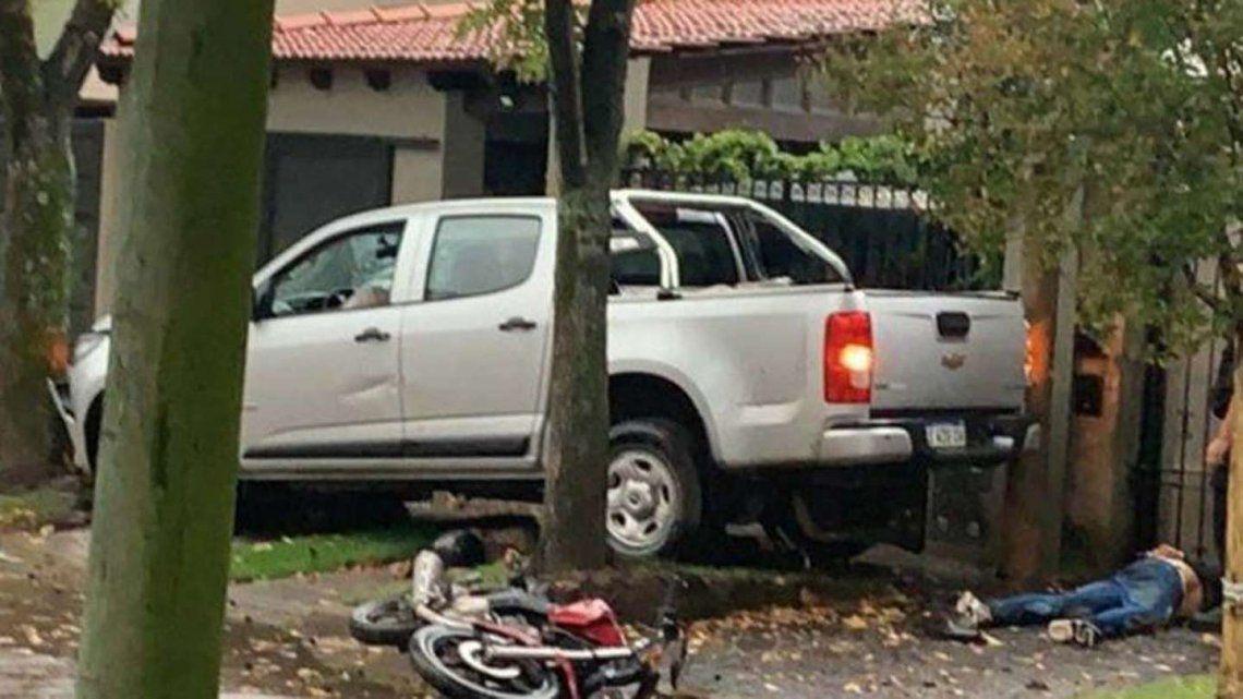 Rosario: un hombre persiguió a dos motochorros y los mató.