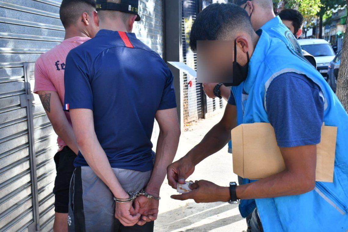Constitución: tres detenidos por la Policía de la Ciudad.
