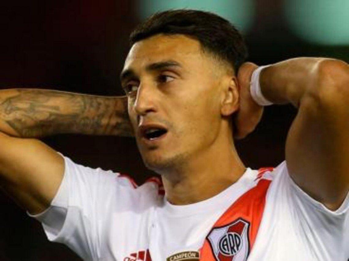 Matías Suárez no se recuperó y es baja en River.