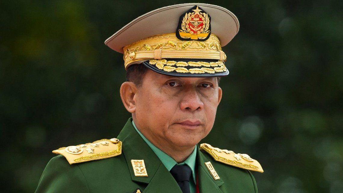 El jefe del Ejército de Myanmar