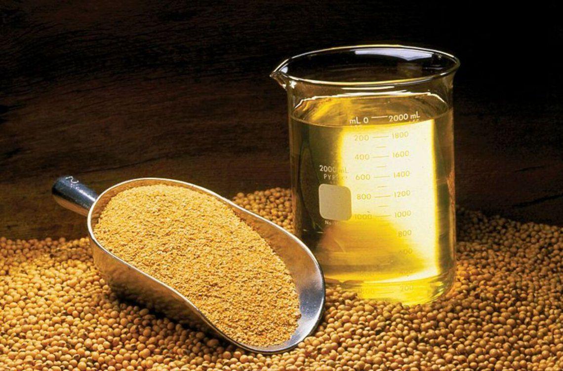 Argentina vuelve a ser líder en harina y aceite de soja