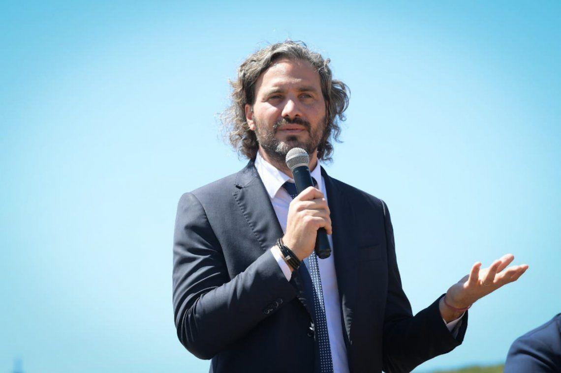 Santiago Cafiero llamó a no politizar la pandemia