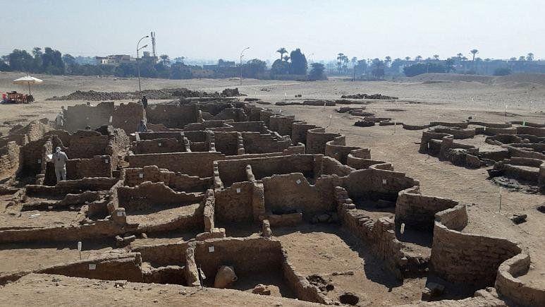 En 10 años se podría descubrir toda la ciudad dorada usada por Tutankamon.