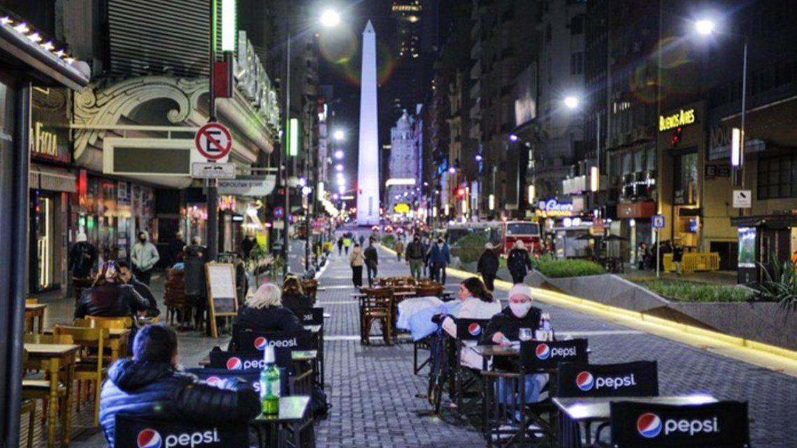 Gremio gastronómico advirtió que perdieron 25.000 puestos laborales en Ciudad de Buenos Aires.