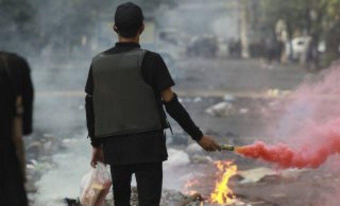 Brutal represión de la dictadura en Birmania