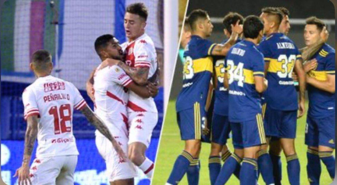 Boca se enfrenta a Union de Santa Fe