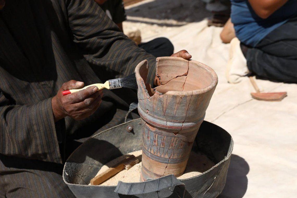 Egipto: así es la ciudad faraónica dorada de hace 3.000 años