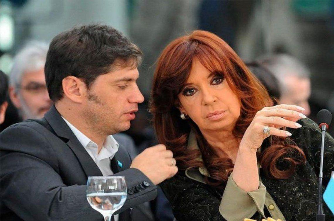 Cristina Kirchner y Azel Kicillof sobreseídos en la causa Dólar futuro