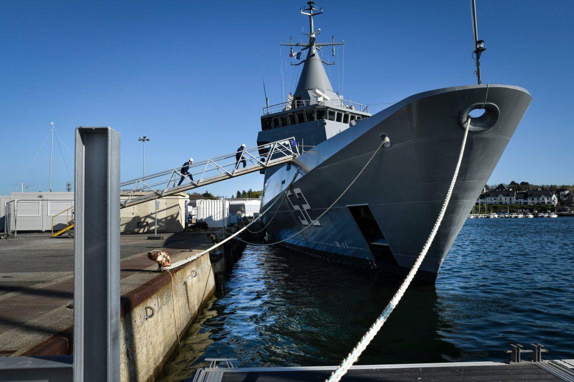 Armada Argentina: Nuevo buque patrullero oceánico recibido en Francia