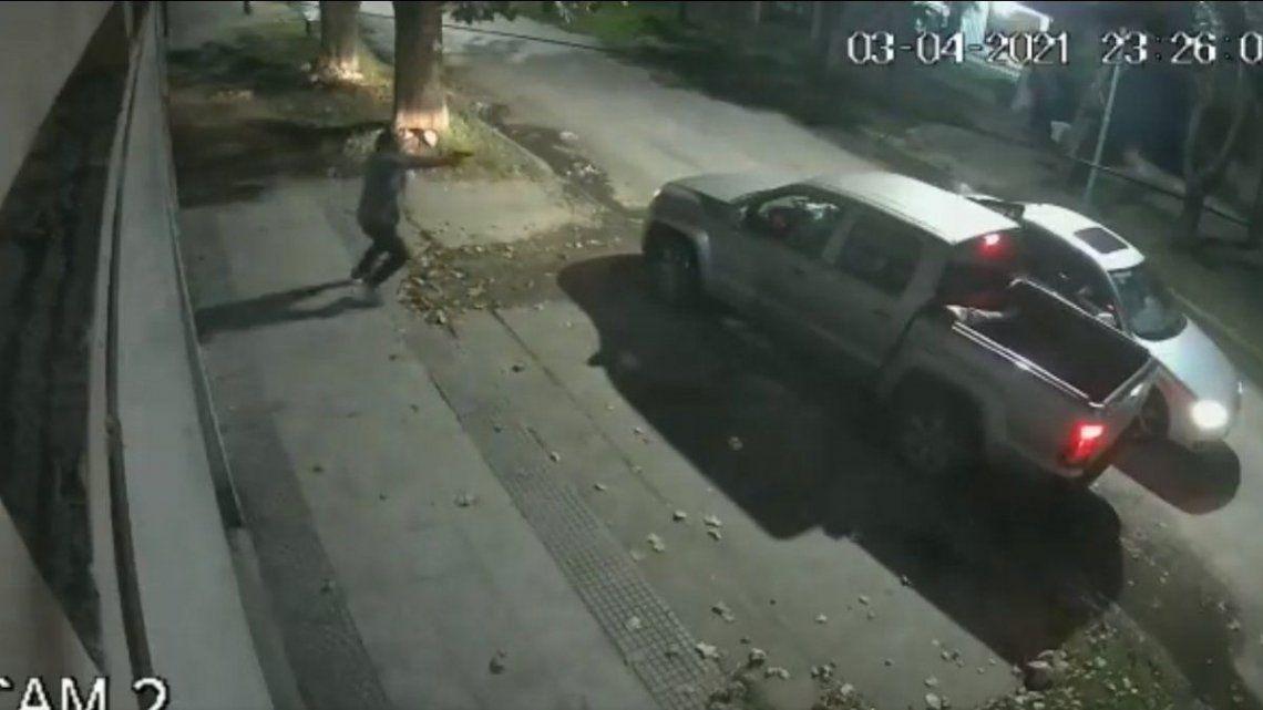 Llavallol: tiroteo en un intento de robo de una camioneta.