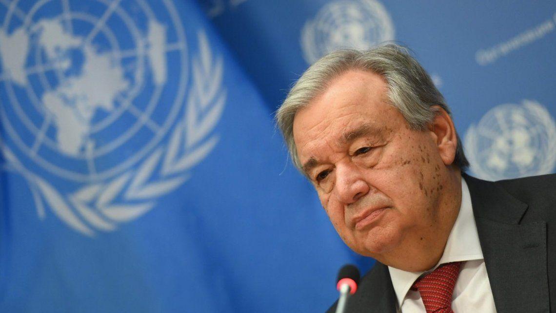 Antonio Guterres es el secretario general de la ONU y fue primer ministro portugués.