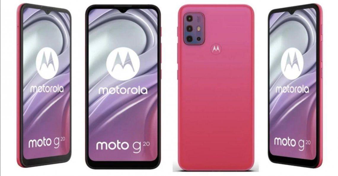El Motorola Moto G20 se filtra al completo antes de su lanzamiento