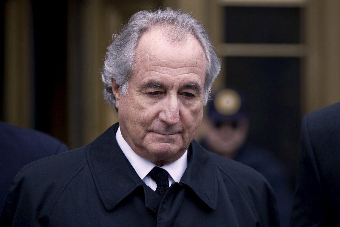 Bernie Madoff fue apresado por el FBI en 2008
