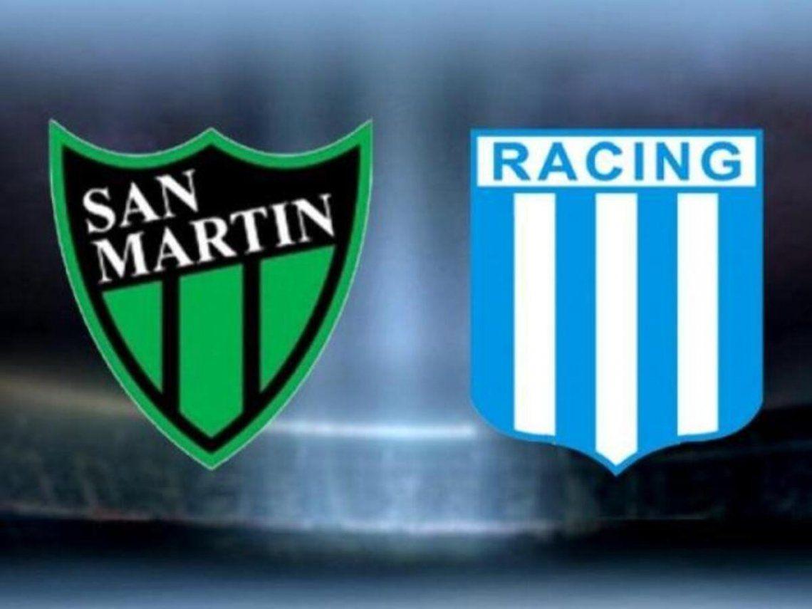 San Martín de San Juagn recibe a Racing