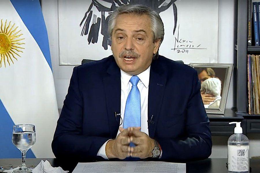 Alberto Fernández anuncio medidas para el AMBA.