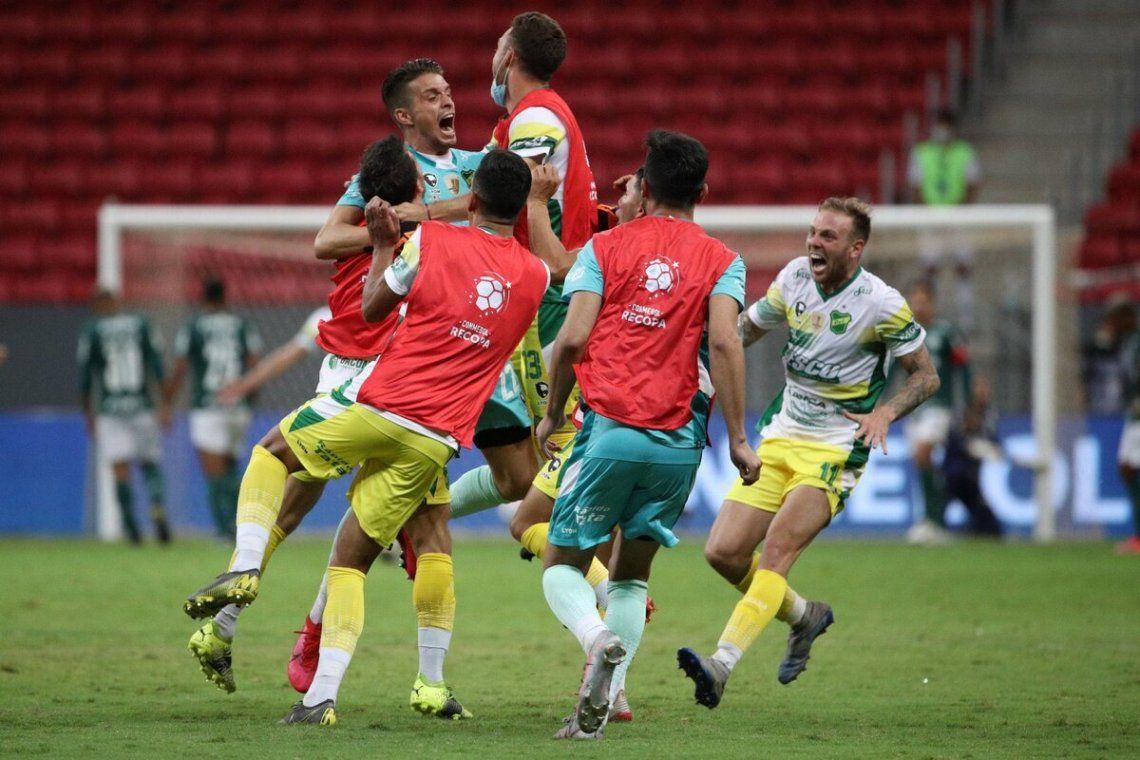 Defensa y Justicia se coronó en la Copa Sudamericana