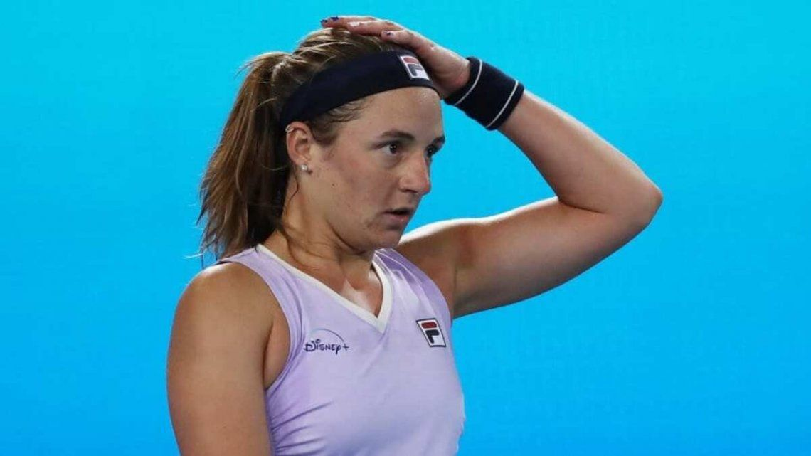 Podoroska abre la serie de Argentina este viernes desde las 11.