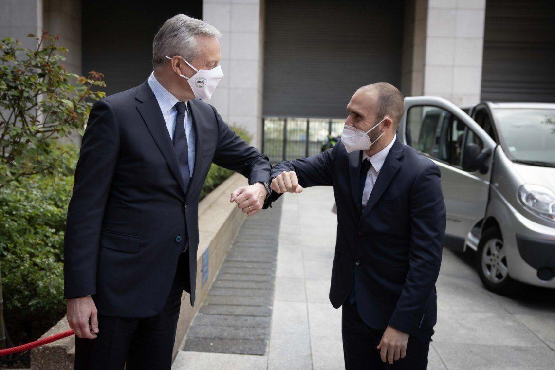 París: Martín Guzmán se reunió con el ministro de Finanzas de Francia