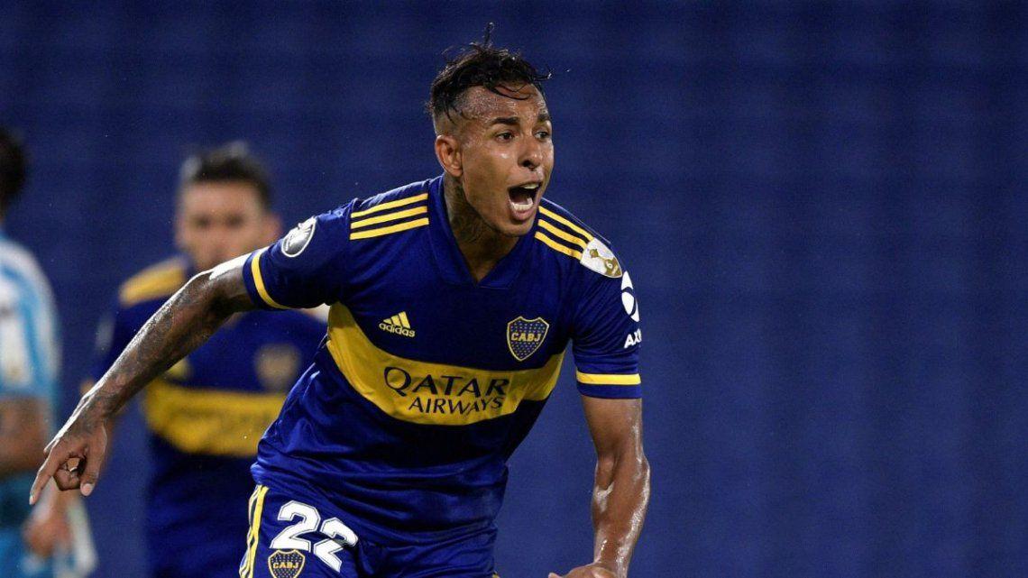 Sebastián Villa se mantiene como titular en Boca