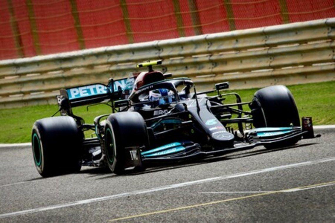 Valtteri Bottas anduvo rápido en Italia