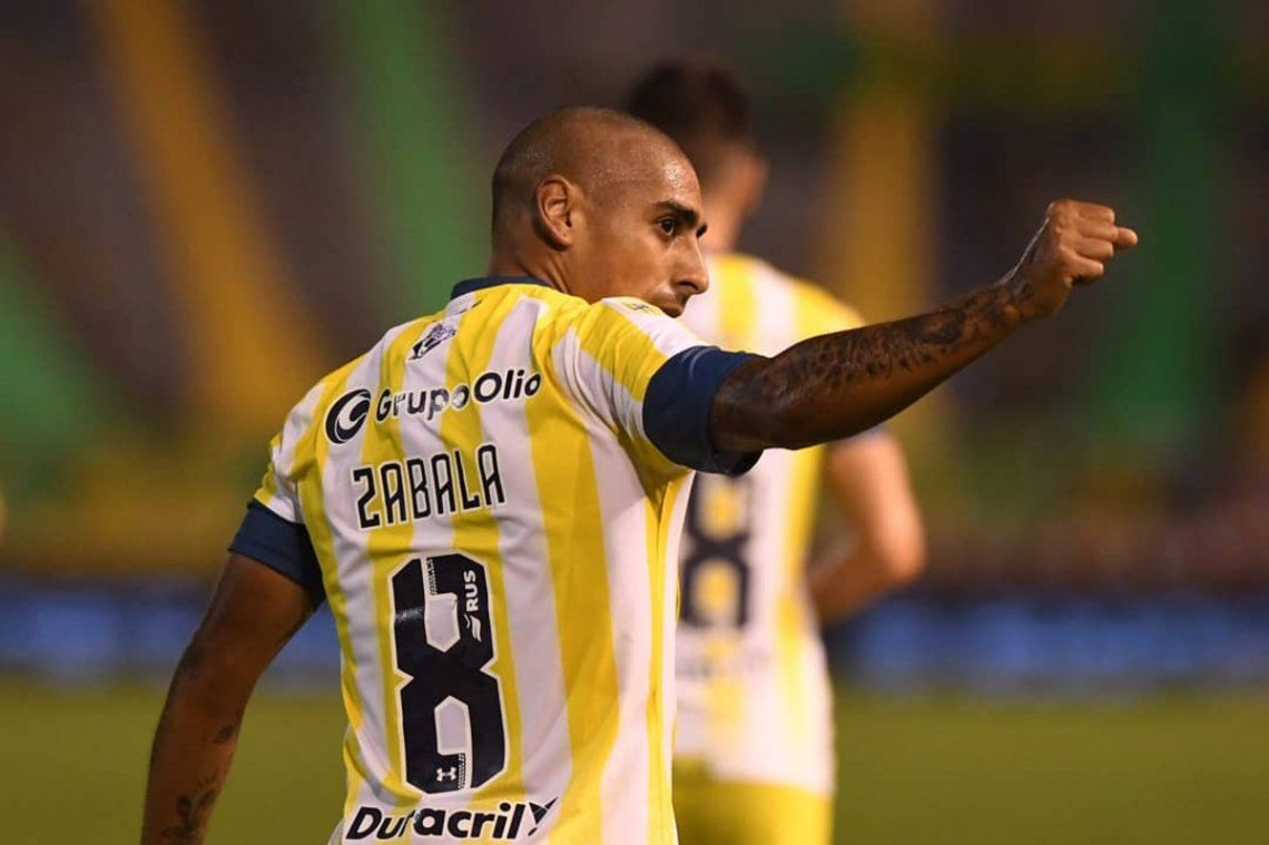 Zabala le dio el agónico triunfo a Rosario Central.