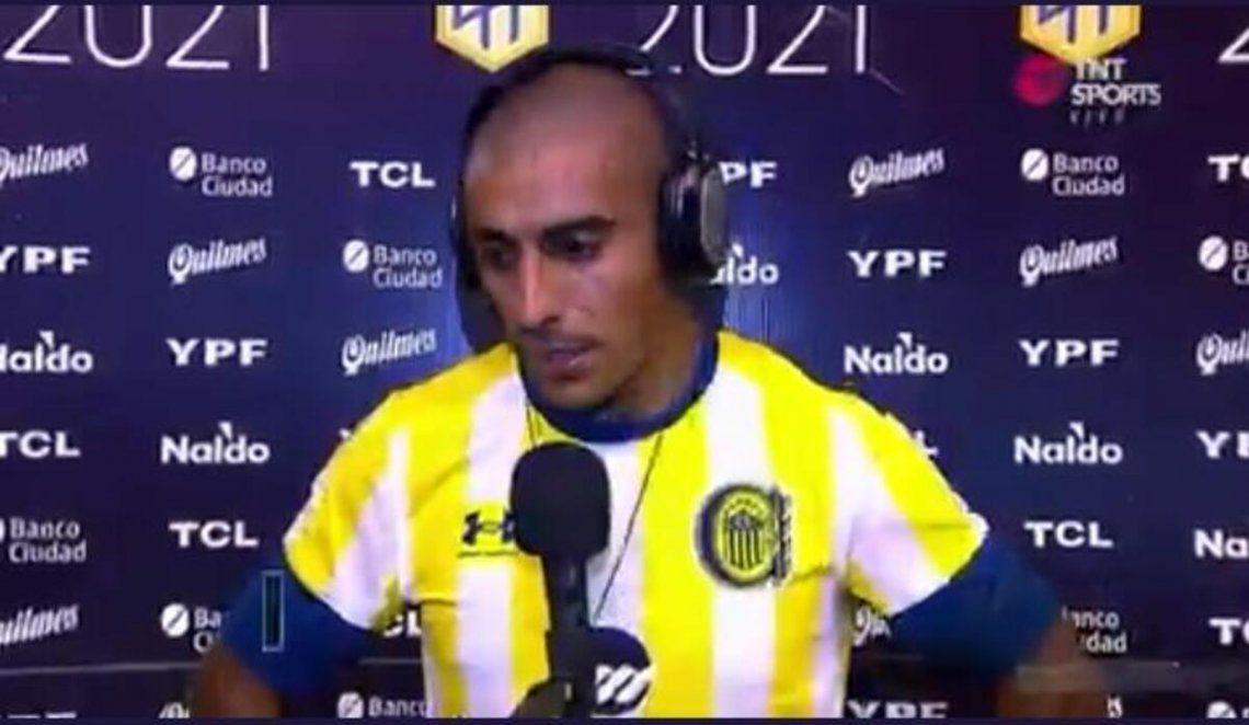Diego Zabala habló luego del partido en Mar del Plata.