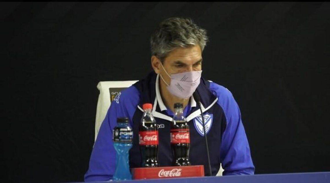 Mauricio Pellegrino quiere poner a Vélez en Sudamérica.