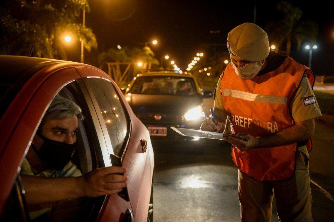 Los operativos de Seguridad verificaron el masivo acatamiento a las restricciones de circulación