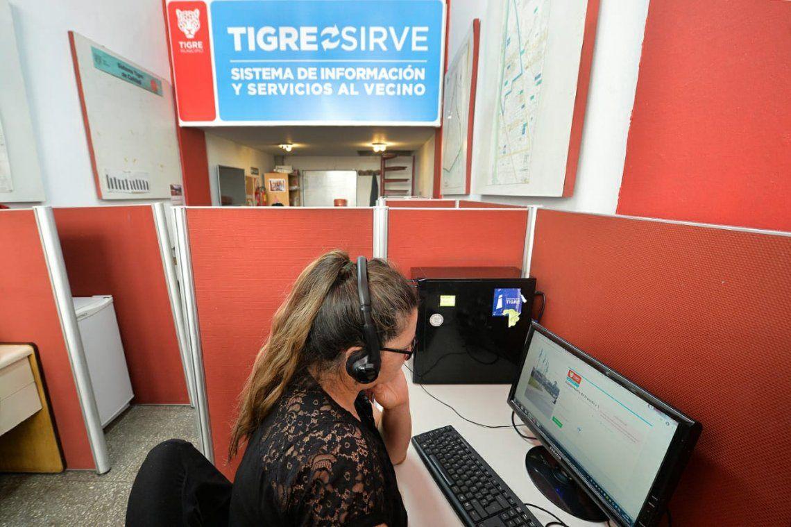 Plataforma Tigre Sirve para responder consultas e inquietudes