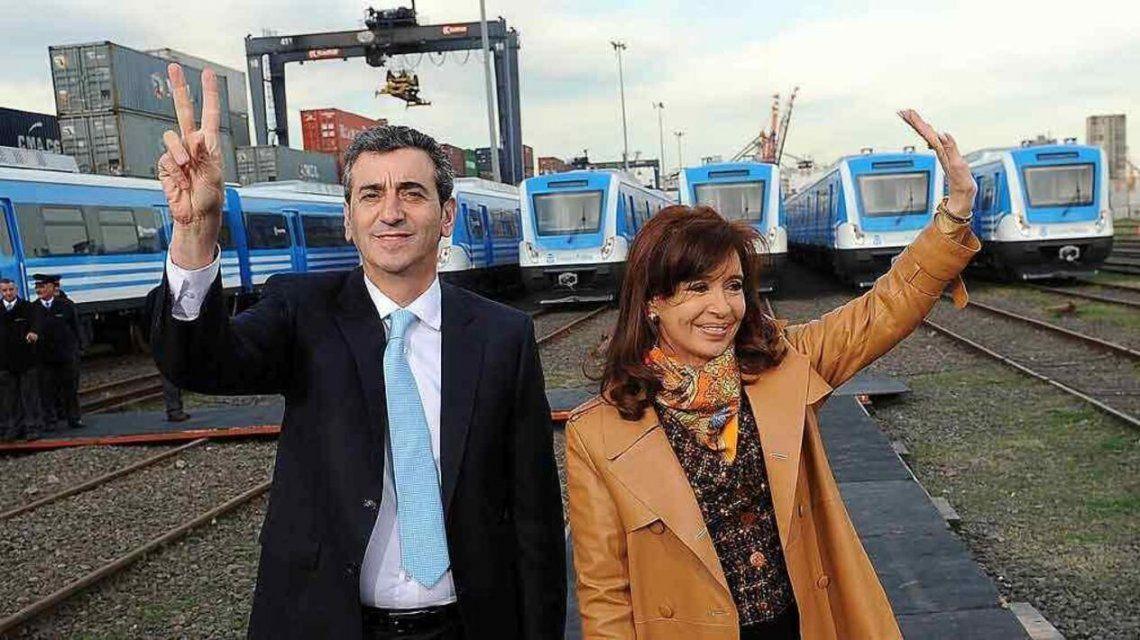 Otros tiempos. Cuando Randazzo era ministro de Cristina Kirchner y no integraba La tercera Vía muerta