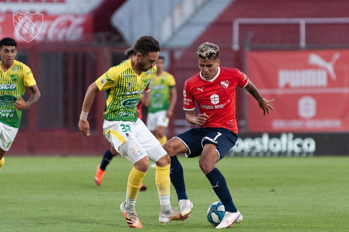 Independiente le ganó 1-0 a Defensa y Justicia