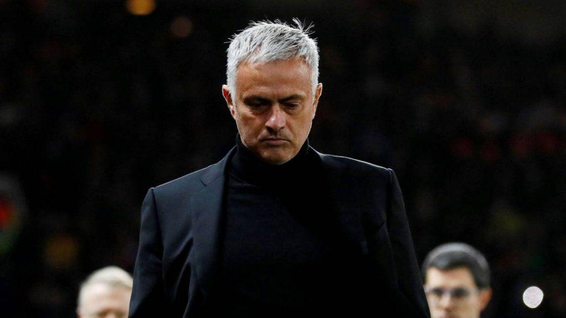 El Tottenham echo a José Mourinho