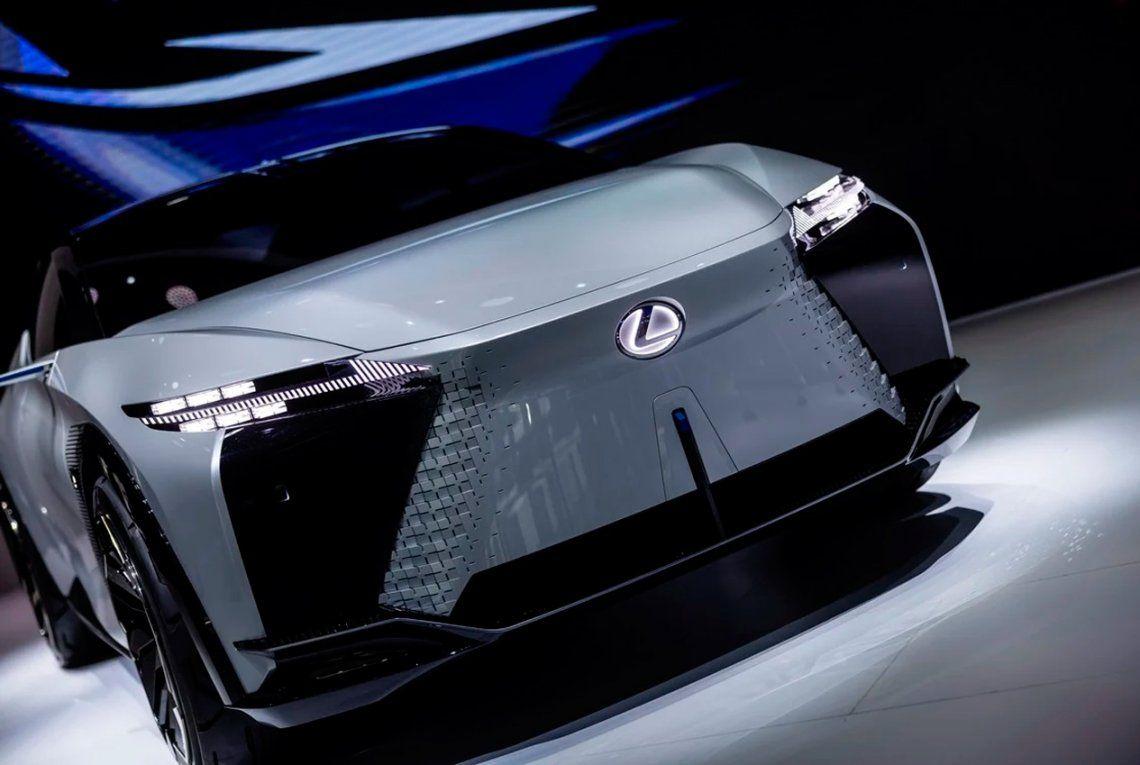 Un prototipo de Lexus se exhibe en el Auto Shanghai 2021. Foto: EFE / EPA