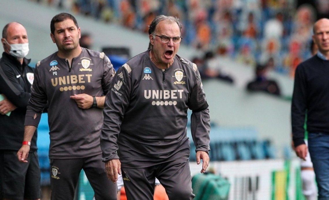 El Leeds de Marcelo Bielsa empató 1-1 ante el Liverpool.