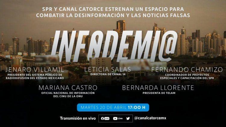 La TV Pública mexicana, con la colaboración de Télam, estrenará Infodemia